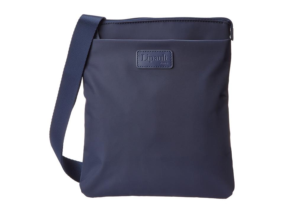 Lipault Paris Large Crossbody Bag Navy Cross Body Handbags