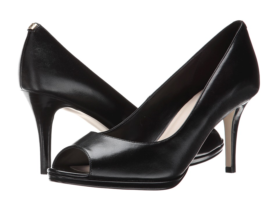 Cole Haan - Davis Open Toe Pump (Black) Women