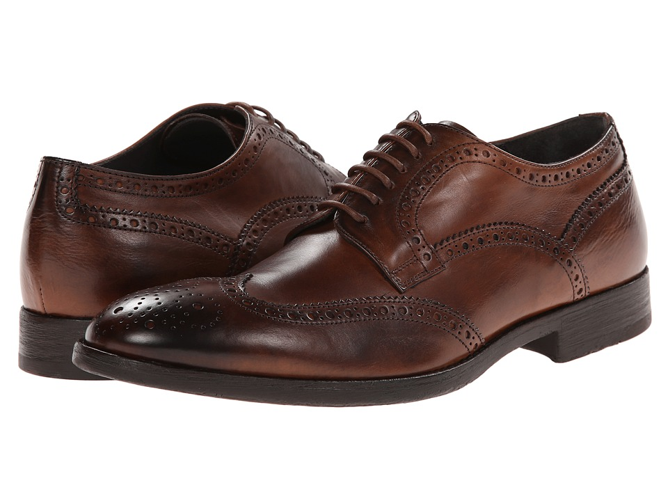 To Boot New York - Benton Cognac Trapper Mens Shoes $398.00 AT vintagedancer.com