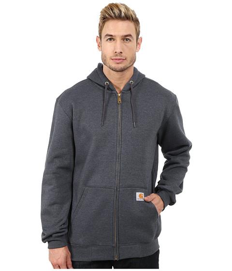 Carhartt MW Hooded Zip Front Sweatshirt - Charcoal Heather