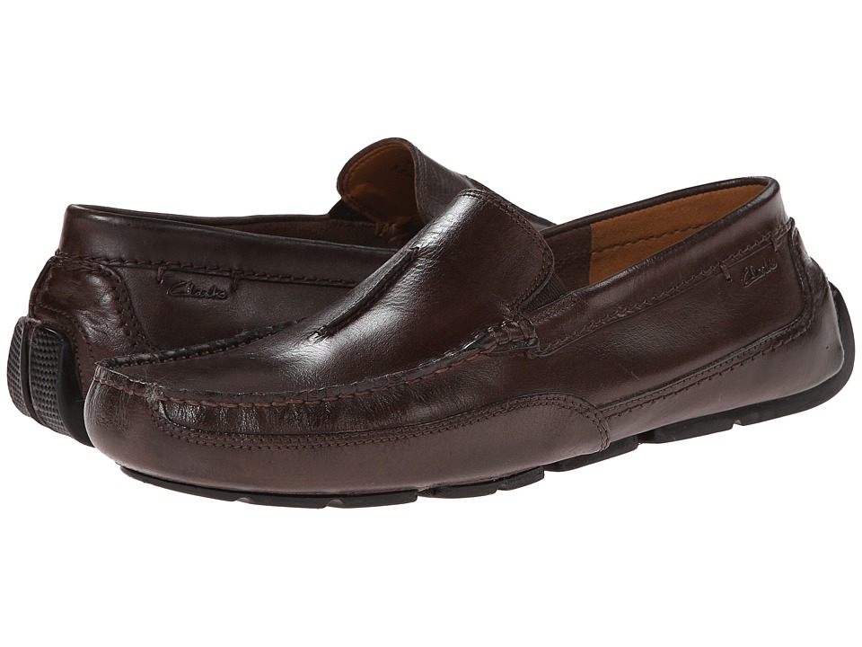 Clarks Ashmont Race (Brown Smooth) Men