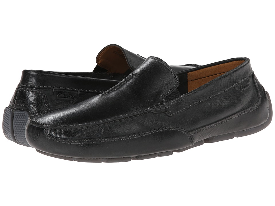 Clarks - Ashmont Race (Black Smooth) Men