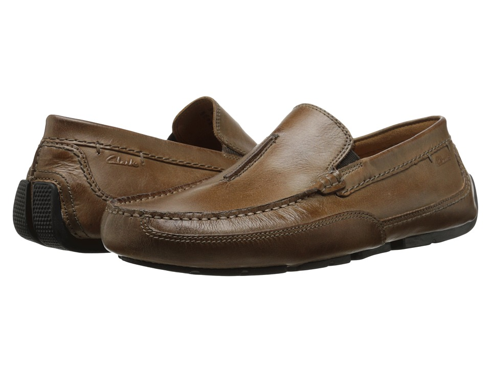 Clarks Ashmont Race (Tan Leather) Men