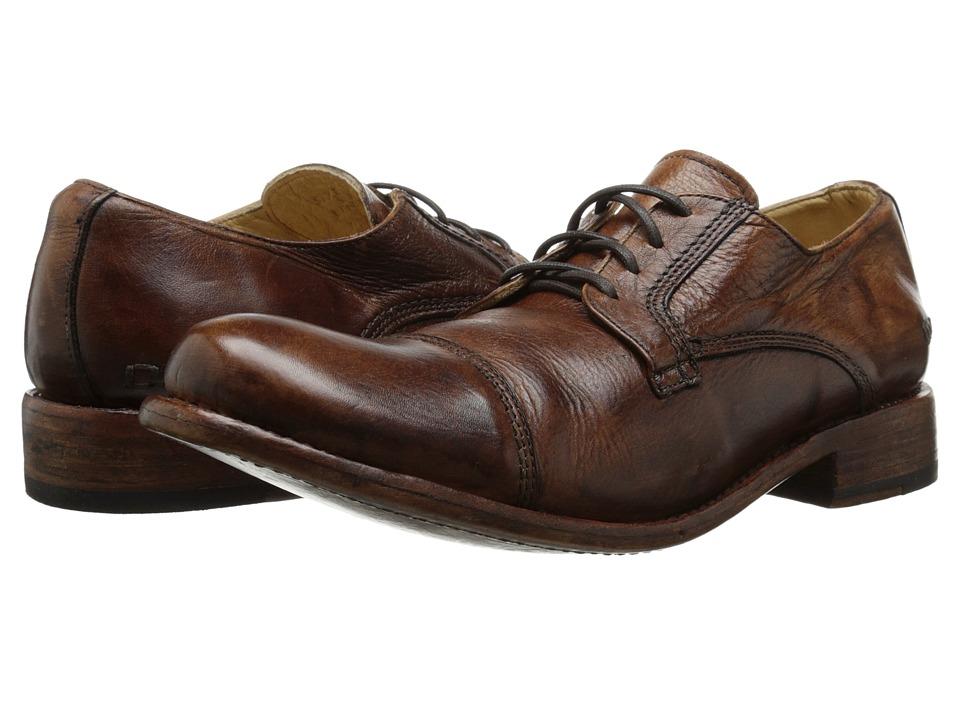 Bed Stu Genoa Tan Rustic Mens Lace up casual Shoes
