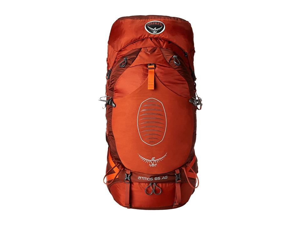 Osprey Atmos 65 AG Cinnabar Red Backpack Bags