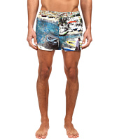Dolce & Gabbana - Printed Swim Trunk