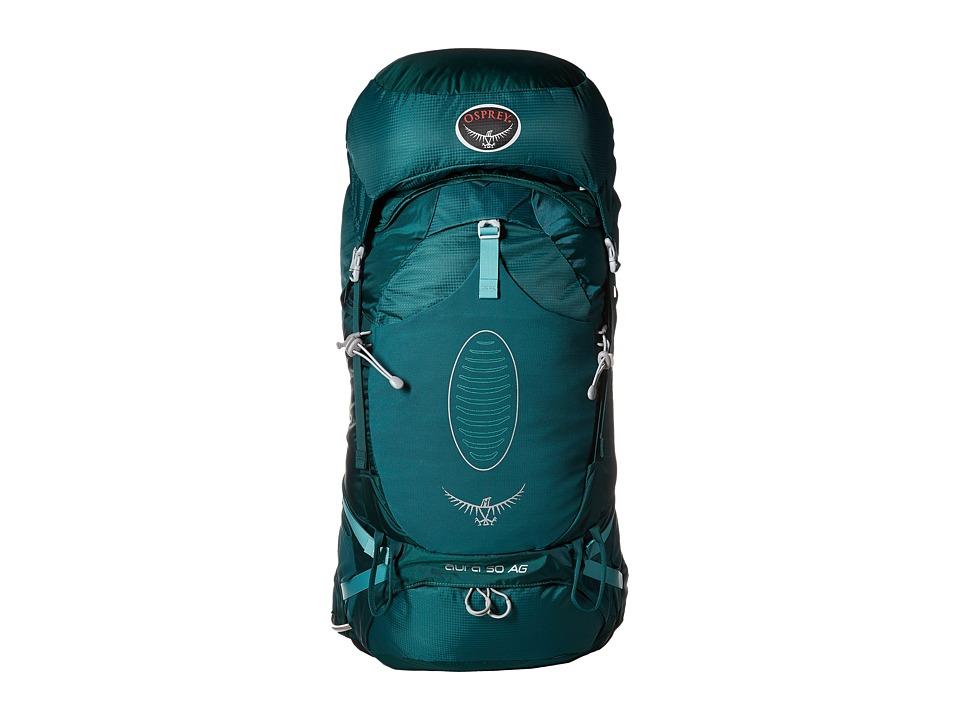 Osprey Aura 50 AG Rainforest Green Backpack Bags