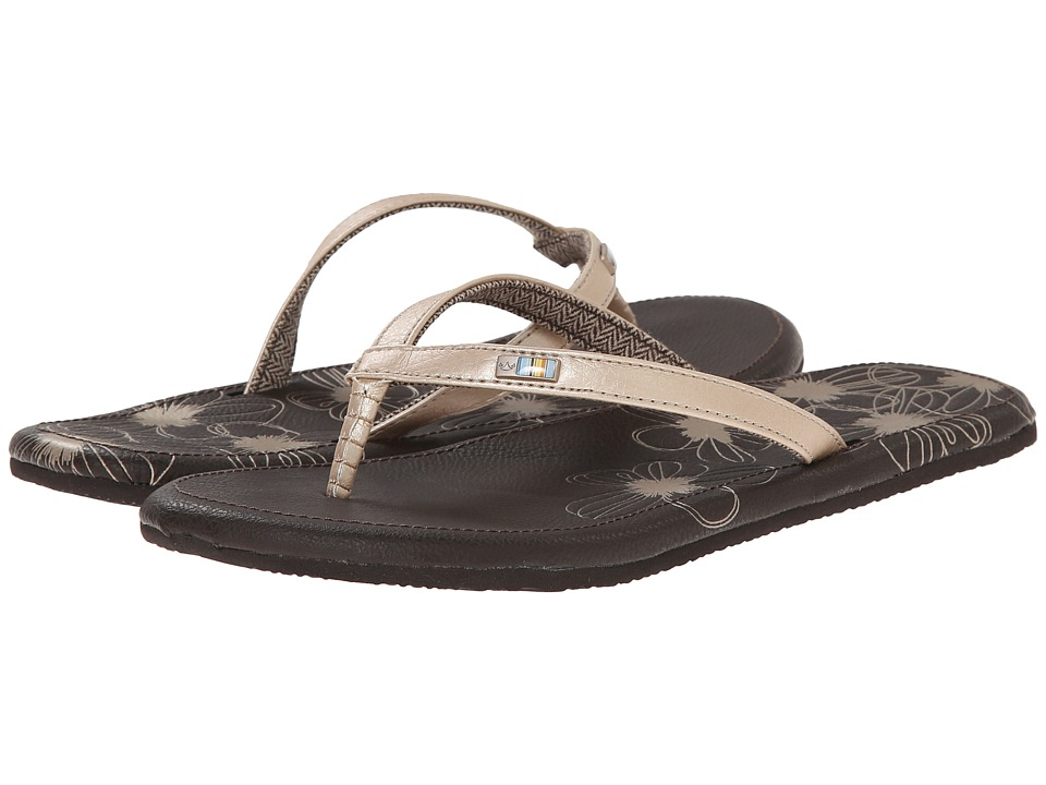 Freewaters - Vezpa (Gold/Brown) Women's Sandals