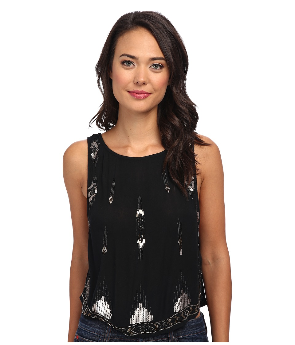 Free People Bad Girls Tank (Black) Women's Sleeveless
