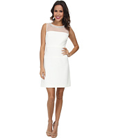 Christin Michaels - Ottoman Mesh Fit and Flare Dress