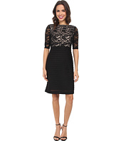 Christin Michaels - Lace Top Sheath Dress