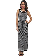 rsvp - Printed Necklace Maxi Dress