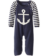 Toobydoo - Cashmere Blend Anchor Jumpsuit (Infant)