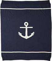 Toobydoo - Cashmere Blend Anchor Blanket