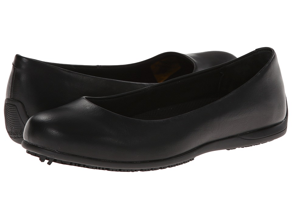 SKECHERS Work - Flattery Transpire (Black) Womens Industrial Shoes