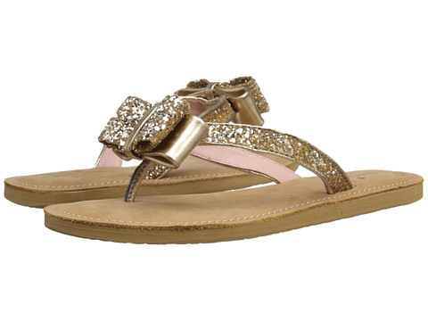 Kate Spade New York Icarda - Gold Glitter/Gold Metallic Nappa