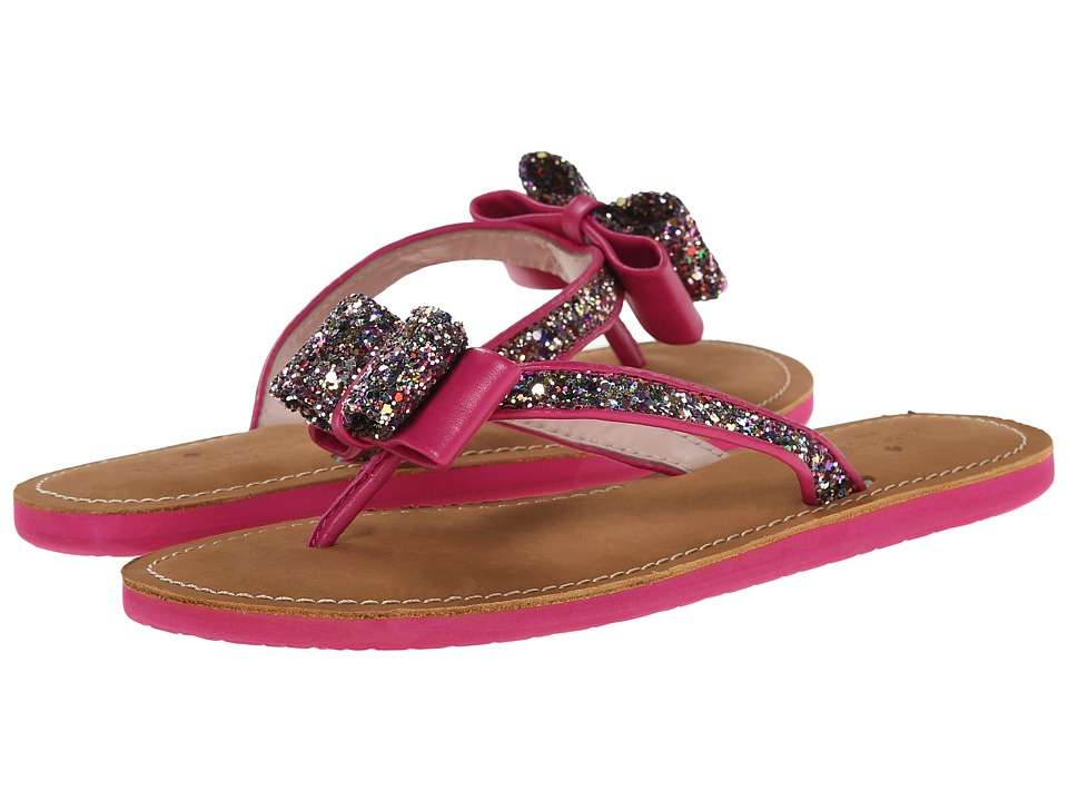 Kate Spade New York Icarda (Multi Glitter/Deep Pink Nappa) Sandals