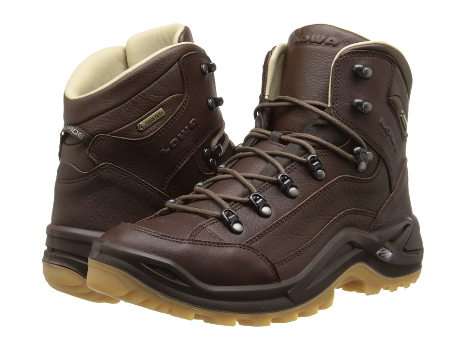 Lowa - Renegade DLX GTX Mid (Chestnut) Men