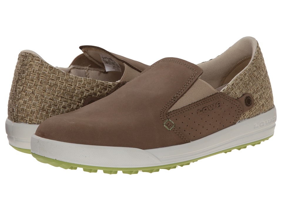 Lowa Cadiz WS Taupe/Green Womens Shoes