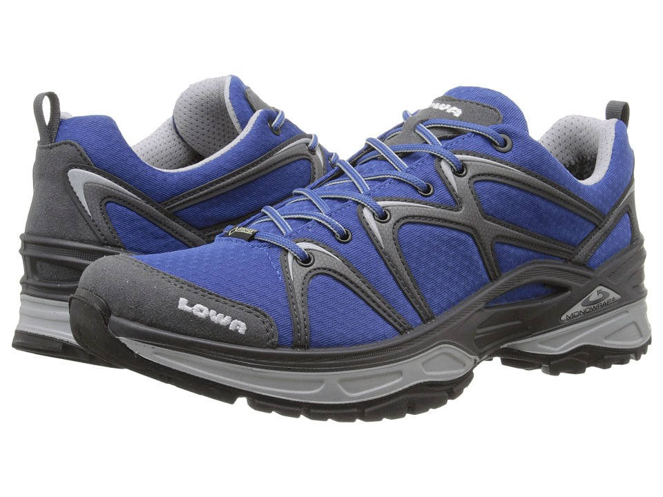 Lowa Innox GTX LO Blue/Grey Mens Shoes