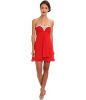 Faviana  Short Beaded Strapless Chiffon Dress 7216  image