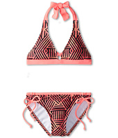 Hurley Kids - Basket Weave Halter & Tunnel Bottom (Big Kids)