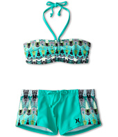 Hurley Kids - Phoenix Bandeau & Boy Short (Big Kids)