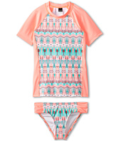 Hurley Kids - Phoenix Surf Shirt Set (Big Kids)