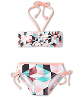 Hurley Kids - Prism Bandeau & Tunnel Bottom (Little Kids)