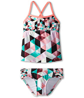 Hurley Kids - Prism Tankini & Tab Side Bottom (Little Kids)