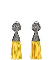 Oscar de la Renta - Short Silk Tassel Earring