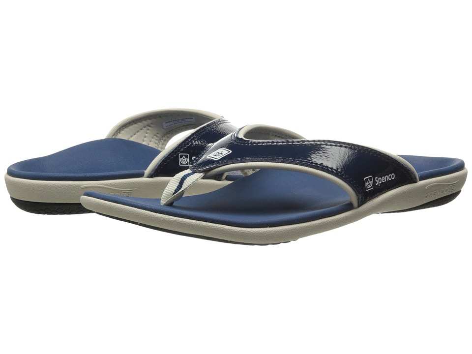 Spenco - Yumi Crackle (Navy) Women