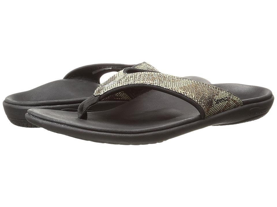 Spenco - Yumi Python (Copper) Women's Sandals