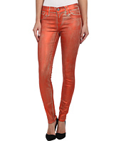 True Religion - Halle Metallic Spray Jean in Orange