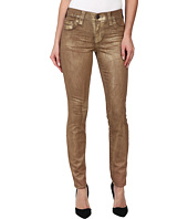 True Religion - Halle Super Skinny Legging in Metallic Gold