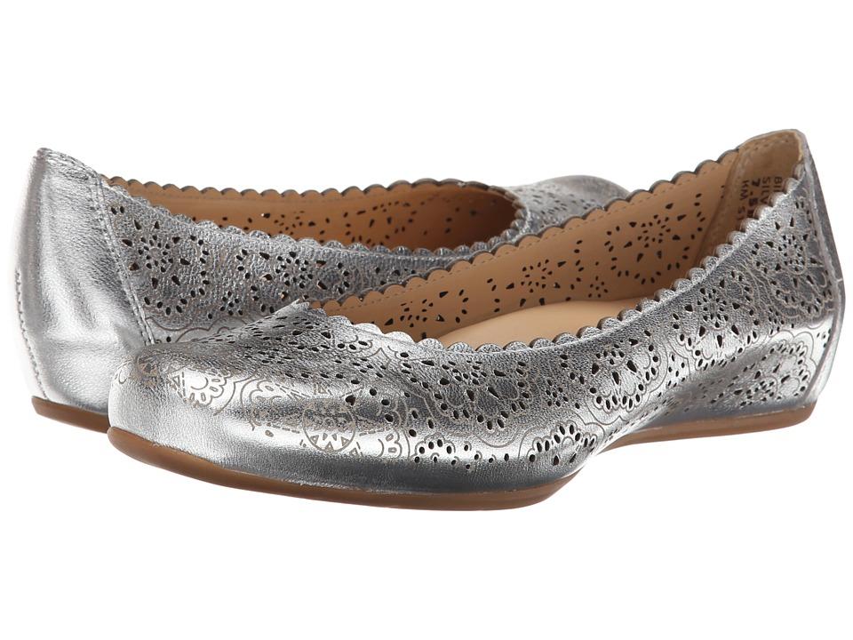 Earth - Bindi Earthies (Silver Metallic Leather) Women