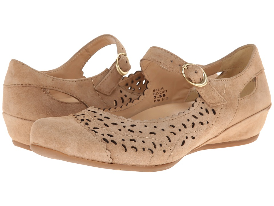 Earth Bella Earthies Biscuit Suede Womens Maryjane Shoes