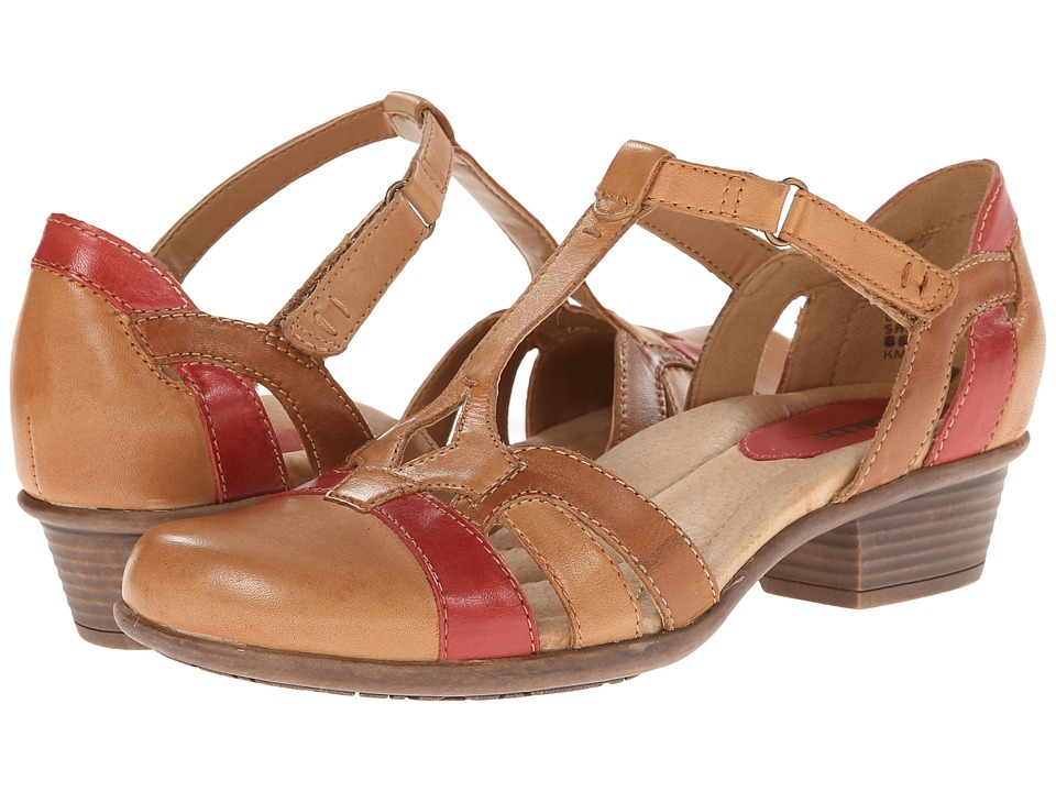 Earth - Luck Sand Multi Full Grain Leather Womens 1-2 inch heel Shoes $109.99 AT vintagedancer.com