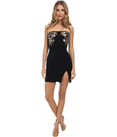 DSQUARED2 - Strapless Embroidered Dress