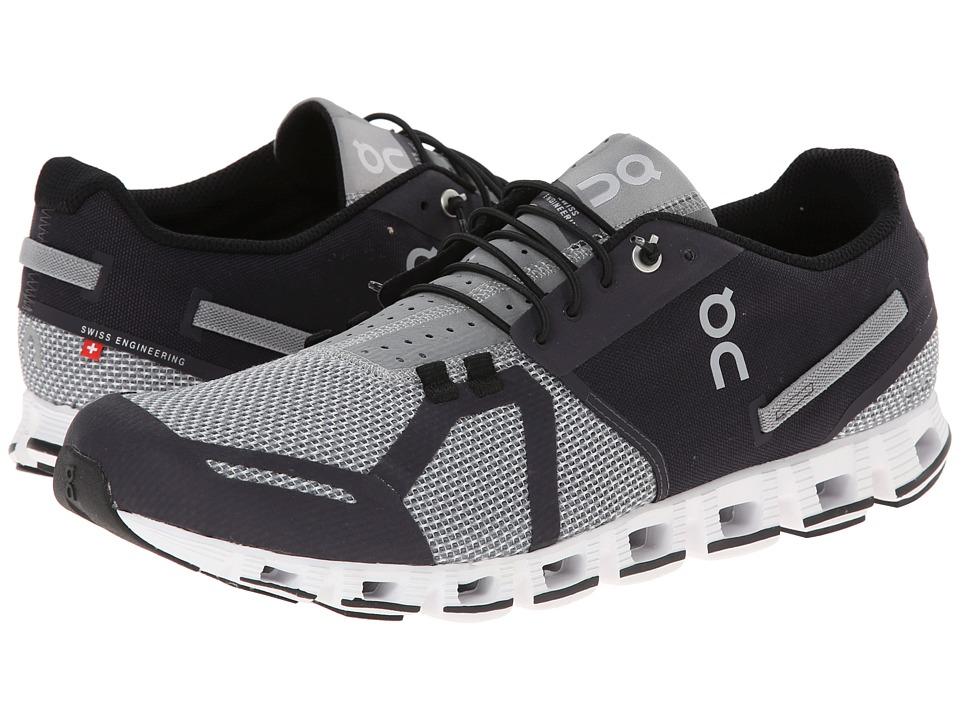 On Cloud Black/Slate Mens Running Shoes