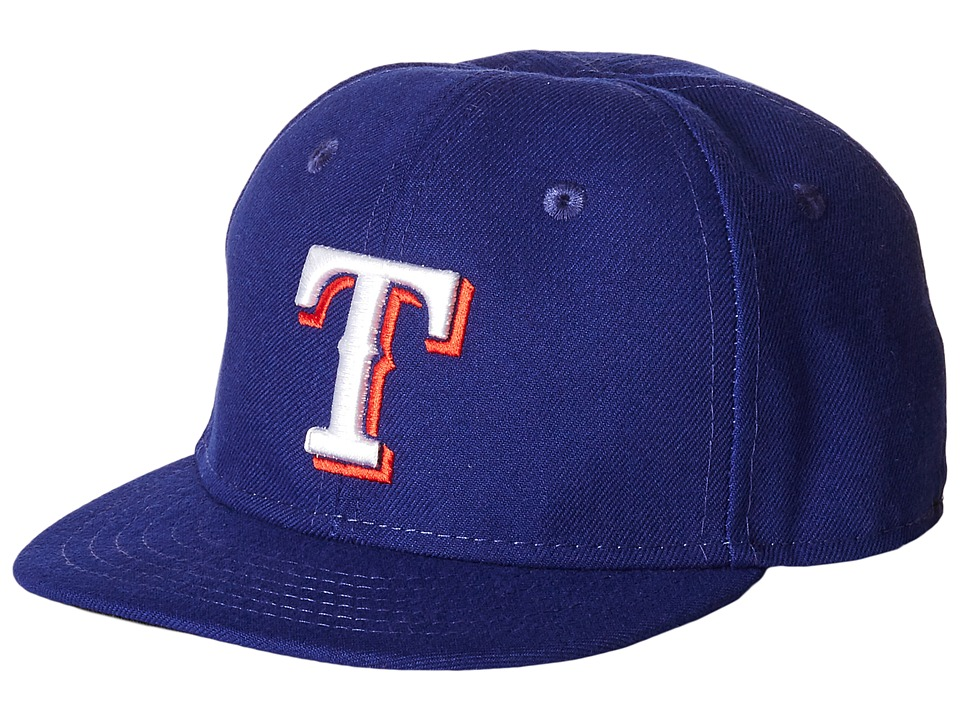 New Era My First Authentic Collection Texas Rangers Game Youth Bright Blue Caps