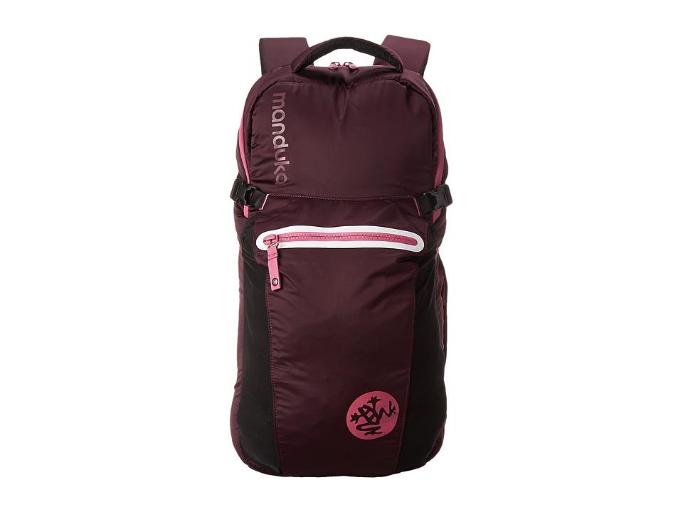 Image of Manduka Go Free Yoga Mat Backpack (Indulge) Backpack Bags