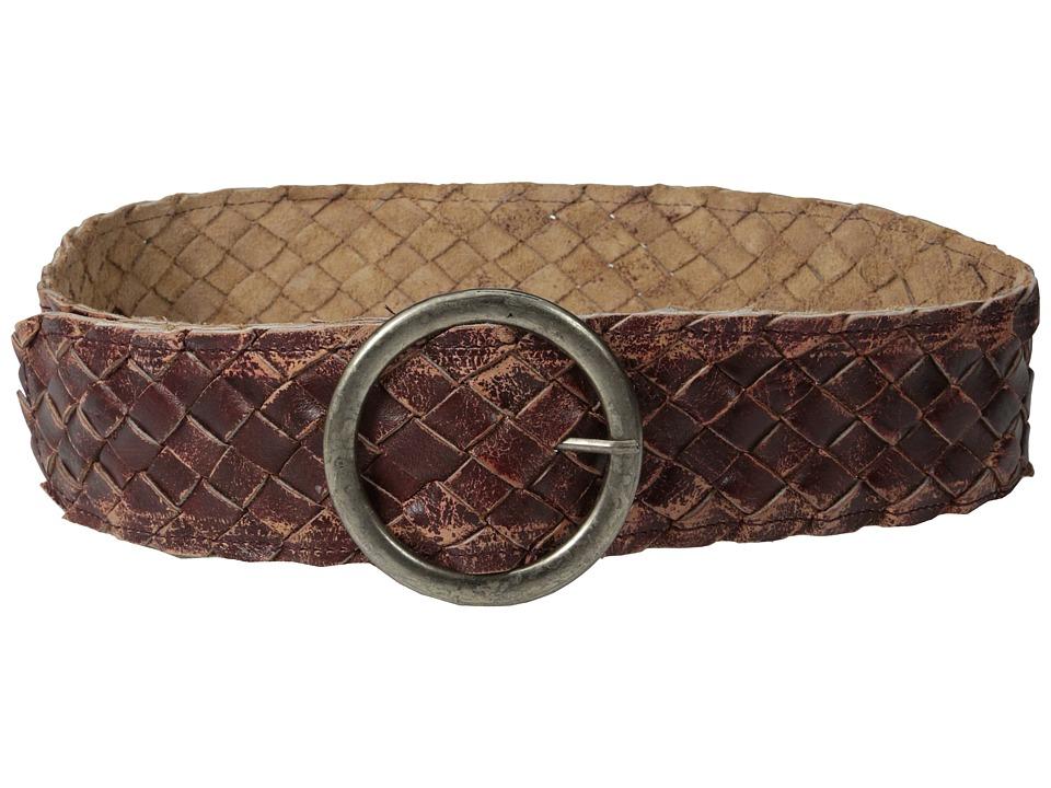 Bed Stu Dreamweaver Ox Blood Lux Womens Belts