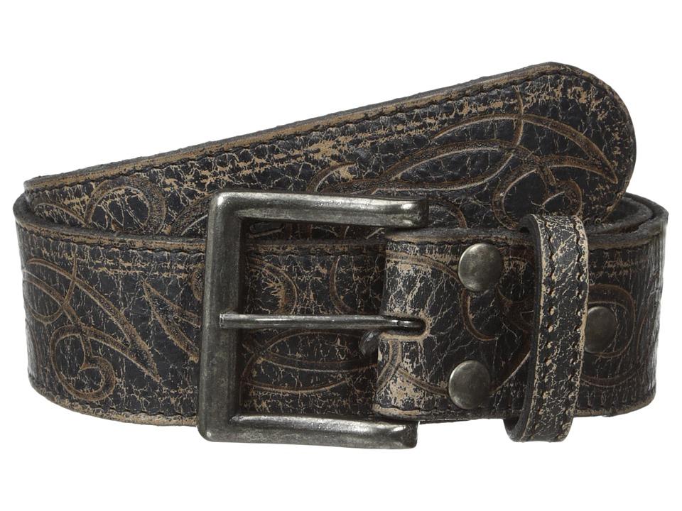 Bed Stu Fresh Black Lux Mens Belts