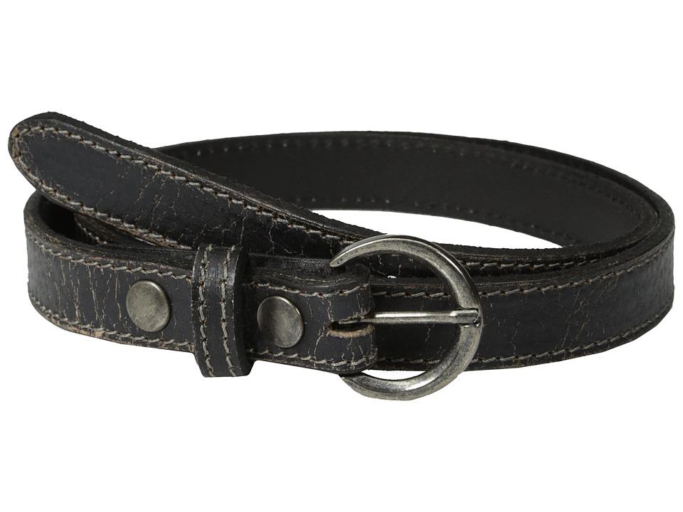 Bed Stu Monae Black Lux Womens Belts