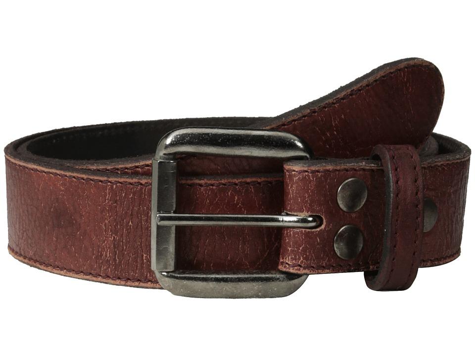 Bed Stu Meander Ox Blood Lux Mens Belts