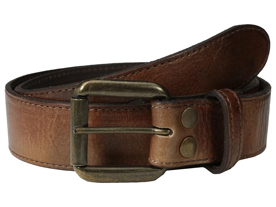 Bed Stu Meander Tan Glove Mens Belts