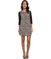 Jack by BB Dakota - Benet Patched Leopard Print Dress