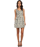 Jack by BB Dakota - Ashlie Floral Lurex Brocade Dress