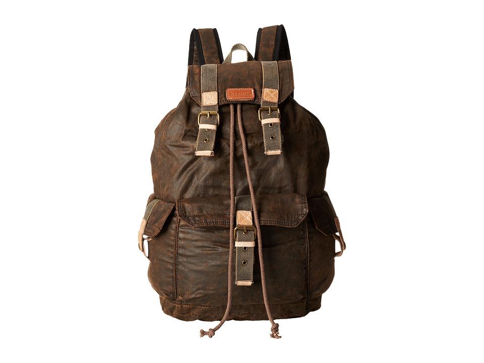 Bed Stu Ohara Black Oil Slick Bags